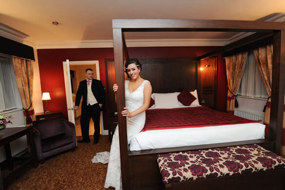The Glenside Hotel bridal suite