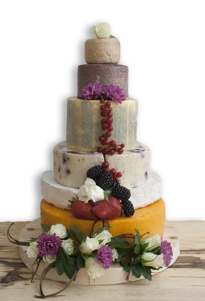 Your Dream Cheese Wedding Cake Wedding Journal