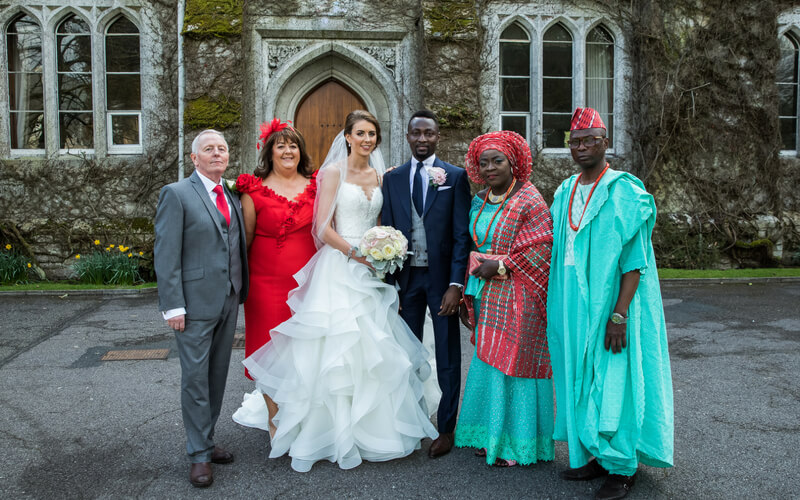 An Irish Nigerian Fusion Inspired Wedding