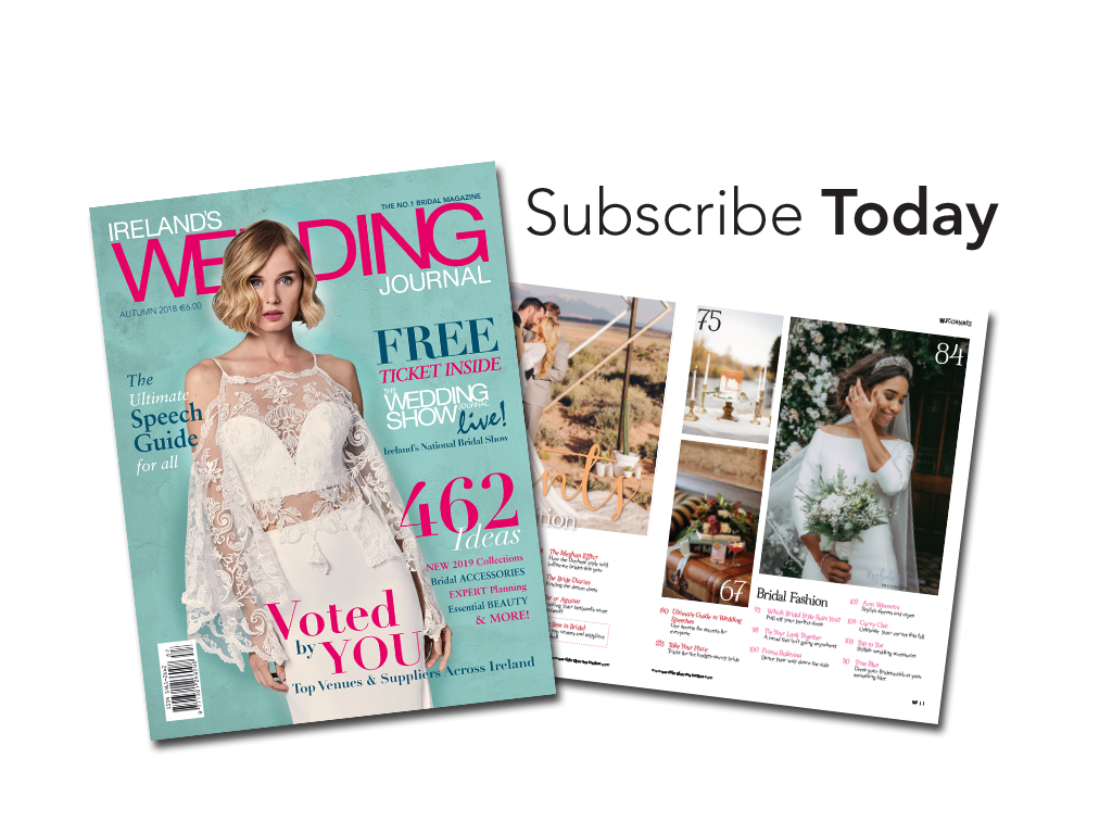 Irelands Wedding Journal Subscription