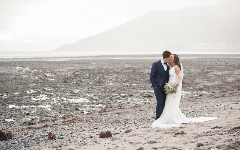 Romantic Wedding at the foot of the Mourne Mountains