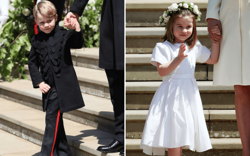 Eugenie-Royal-Wedding-George-and-Charlotte