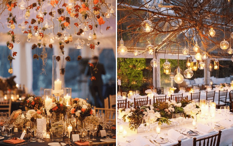 Fall-Wedding-Trend-Lights-and-Decor