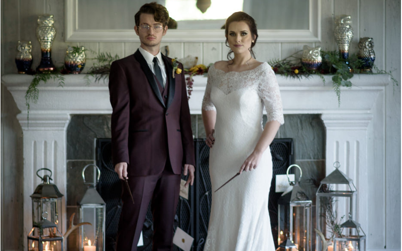 10 Incredibly Magical Harry Potter Themed Wedding Ideas
