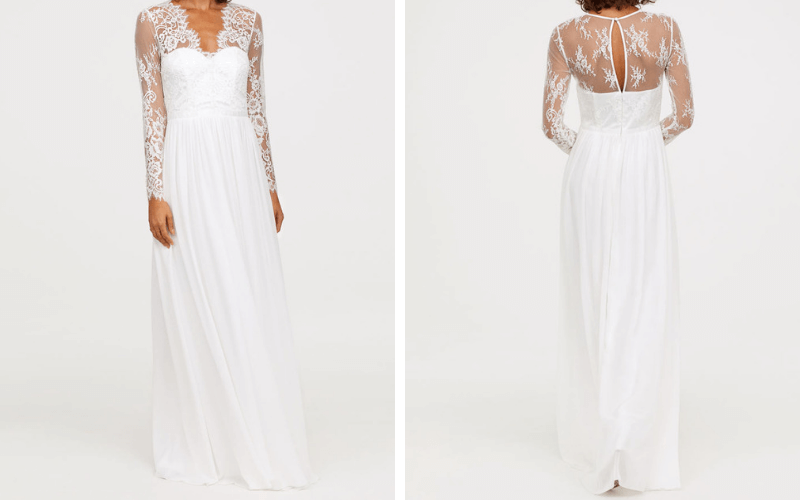 High-Street-Bridal-Dresses-2018-H&M2
