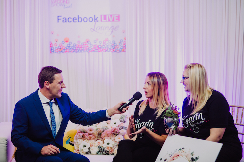 Wedding Journal Show Facebook Live Lounge