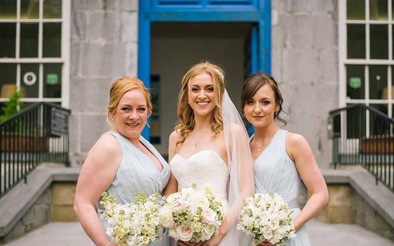 Pure Flowers of Distinction Bridal Party