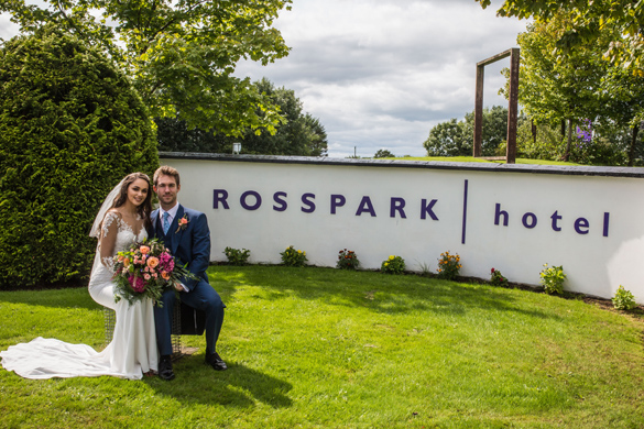 Rosspark Hotel Front Gate