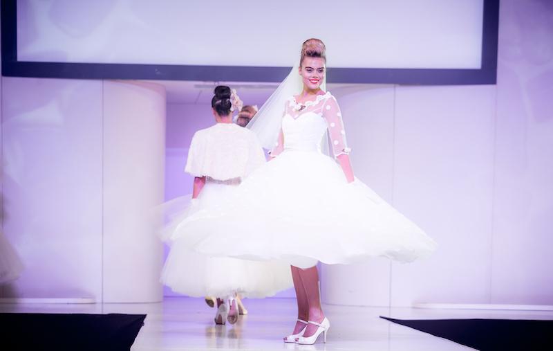 Wedding Journal Show Catwalk