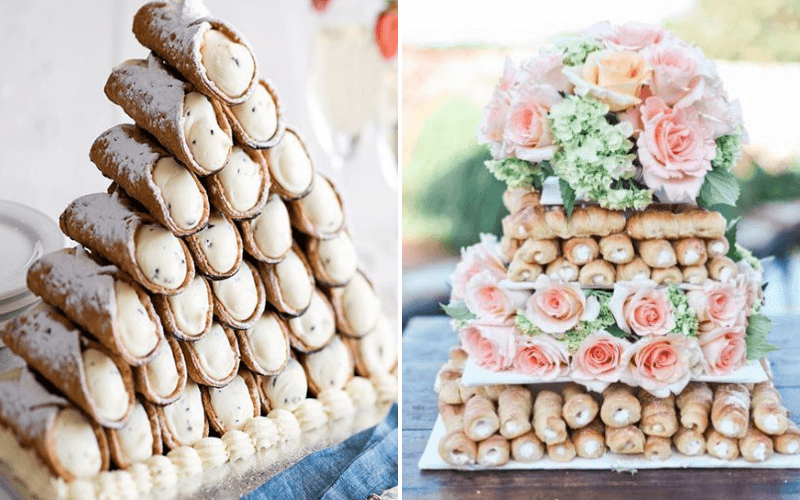 Cake-Alternatives-Cannoli-Tower