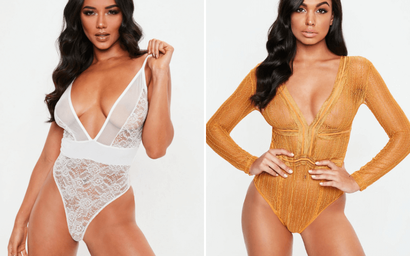 Missguided-Bodysuit-Lingerie