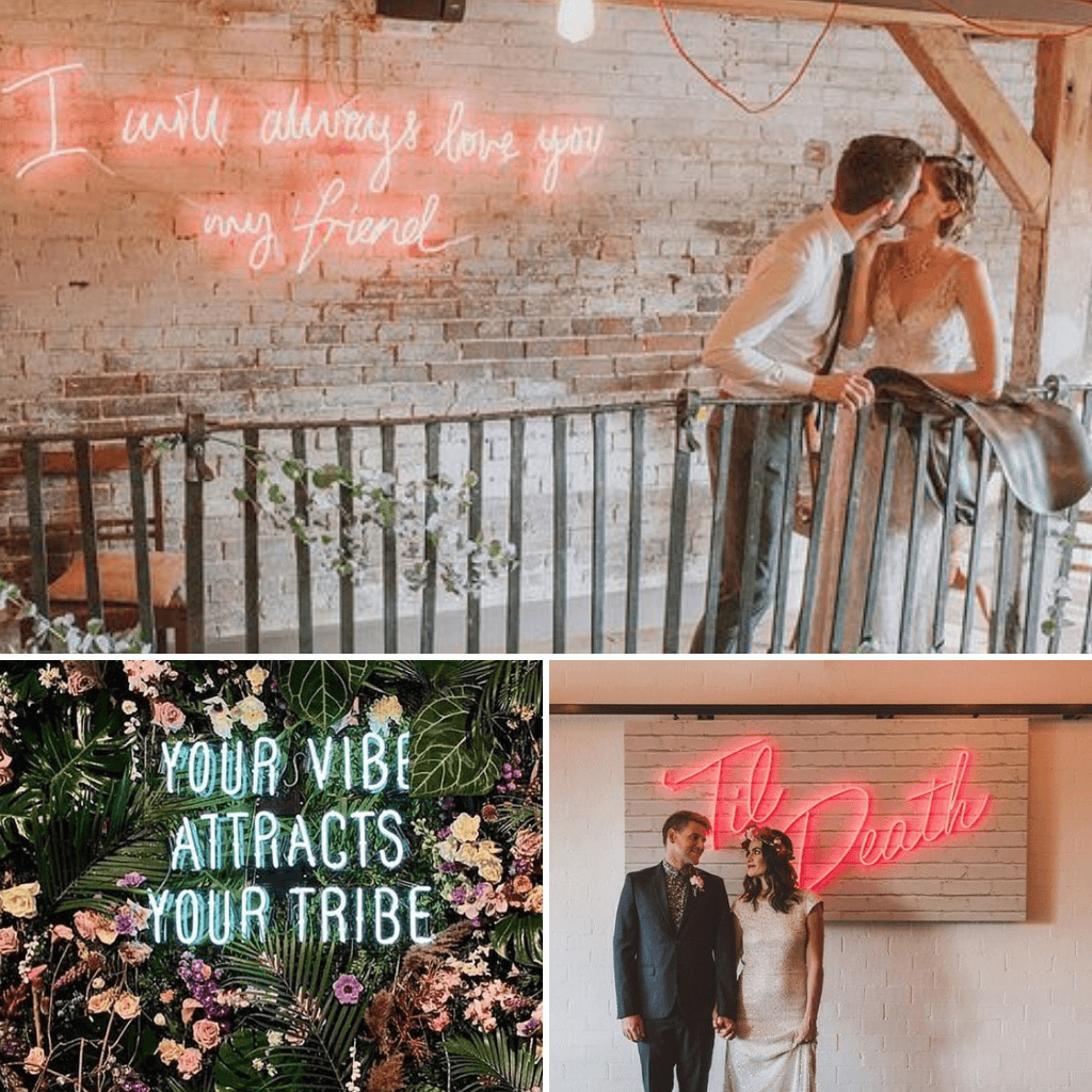 Industrial-Wedding-Theme-Neon-Signs