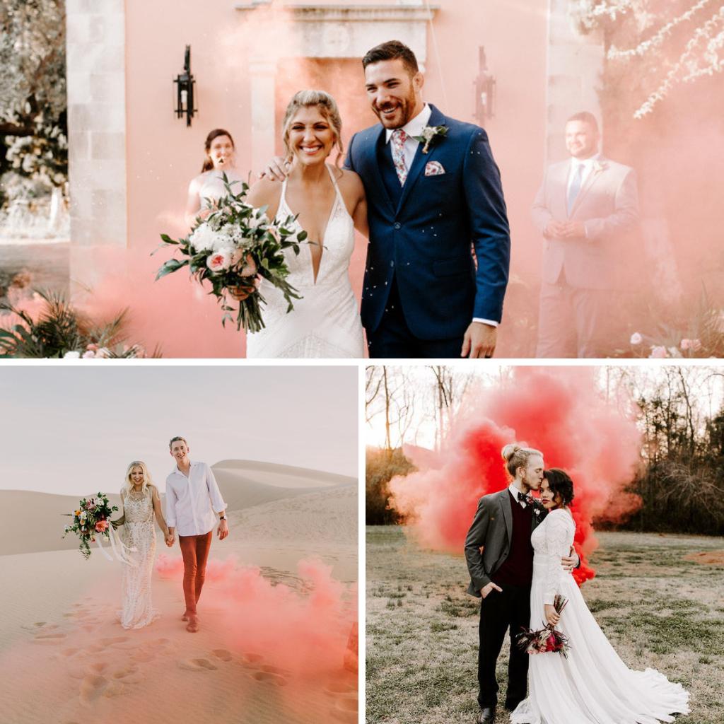 Pink-wedding-smoke-bomb