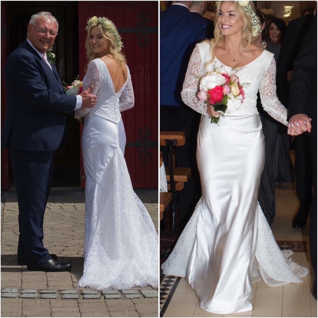 Irish Bride Wears Mum's 50-Year-Old Wedding Dress