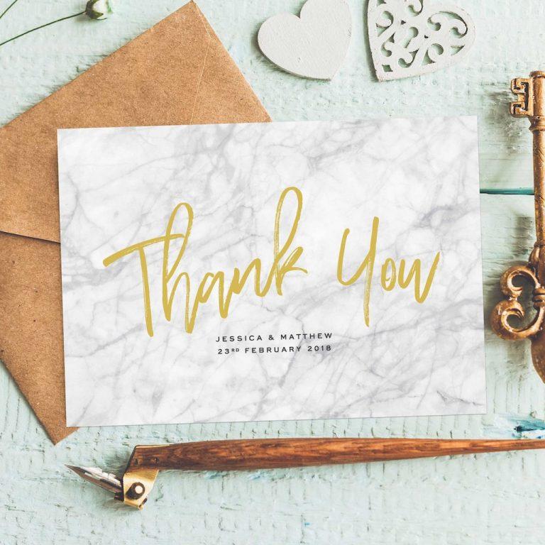 Wedding stationery - Thank YOu Cards