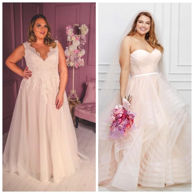 15 Irresistible Plus Size Wedding Dresses Wedding Journal