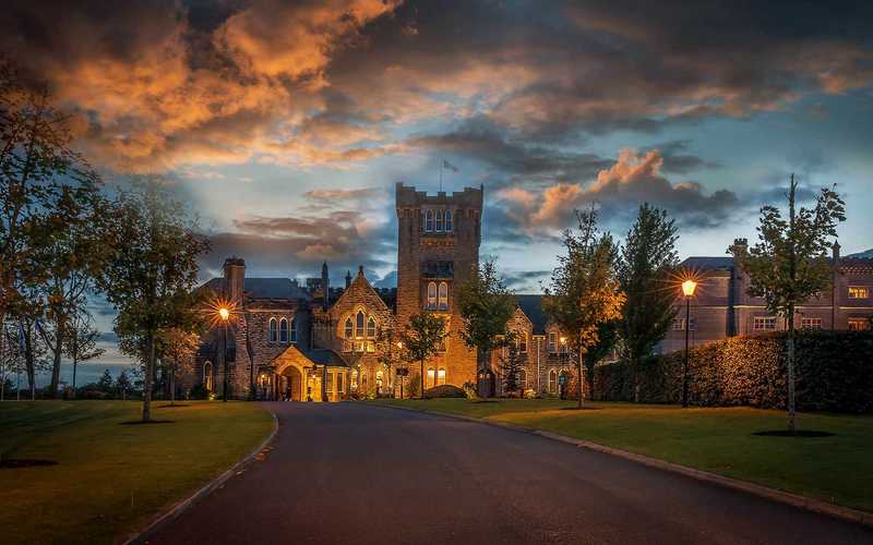 17 Fairytale Castle Venues in Ireland-Featured-Image-Kilronan-Castle